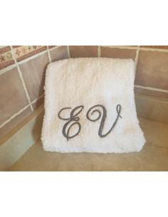 Bordado toalla personalizada