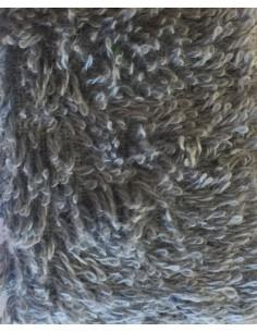 Toalla algodón egipcio plata