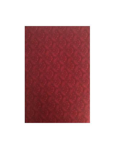 Tela patchwork color rojo vino, Colección básicos