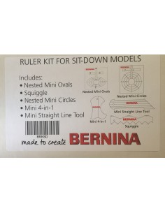 Kit reglas acolchado a máquina de Bernina