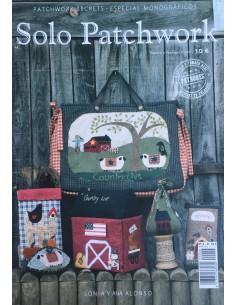 Libro Solo Patchwork de Sonia y Ana Alonso