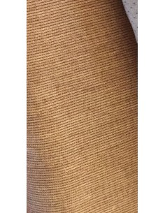 Tela patchwork japonesa tramada marrón rayas galleta