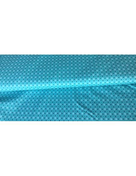 Tela azul claro con puntos Lori Holt Bee Happy