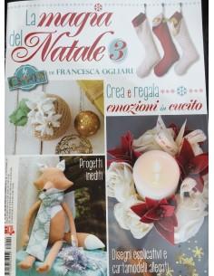 Revista patchwork de navidad: La Magia del Natale 3 Francesca Ogliari