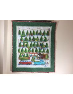 Kit quilt de pared luces Navidad Christmas Tree