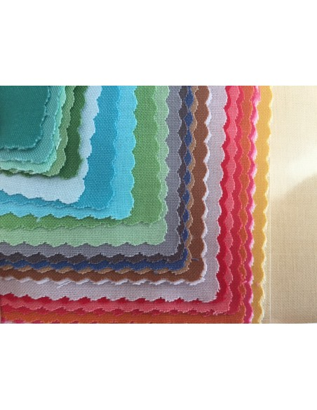 Layer Cake Pack de telas colores lisos 25cm x 25cm Riley Blake