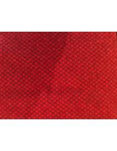 Tela Franela roja Wool and Needle Flannels V de Primitive Gatherings