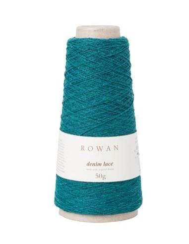 Rowan denim lace turquesa