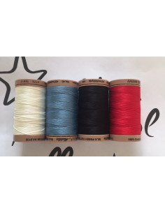 Pack Hilos 100% algodón Mettler Silk Finish Cotton