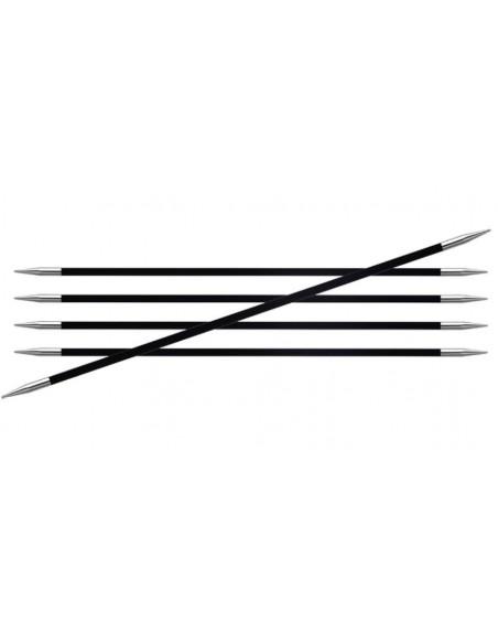 Pack de 5 Agujas Knitpro doble punta Karbonz