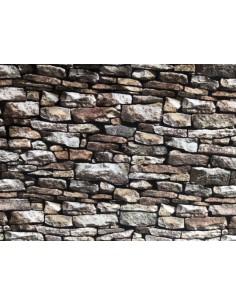 Tela patchwork piedras naturales marcadas en tonos marrones Northcott