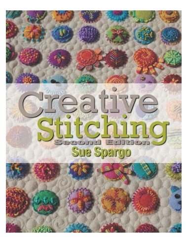 Libro bordado Creative Stitching Sue Spargo