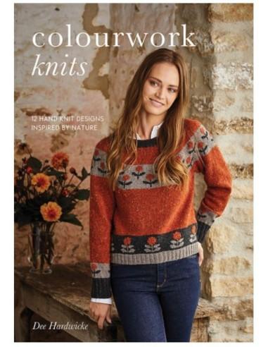 libro Colourwork knits de Dee Hardwicke
