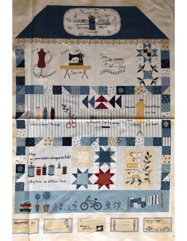 Panel patchwork American Country Collection de Masako De Lecien