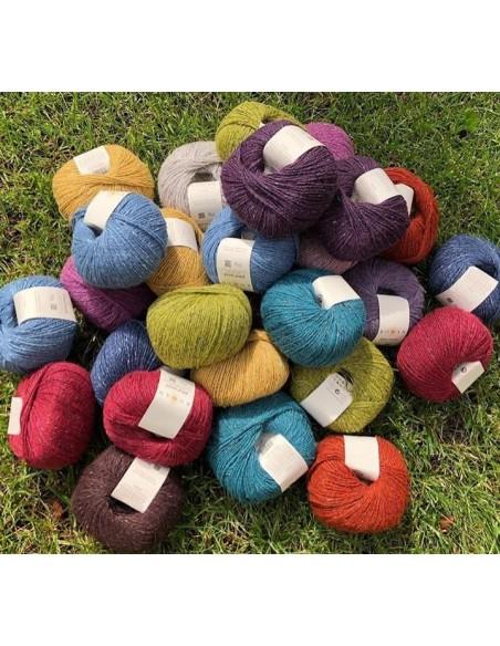 Kit completo manta Heirloom quilt lana Rowan