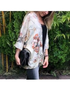 kit  costura kimono seda