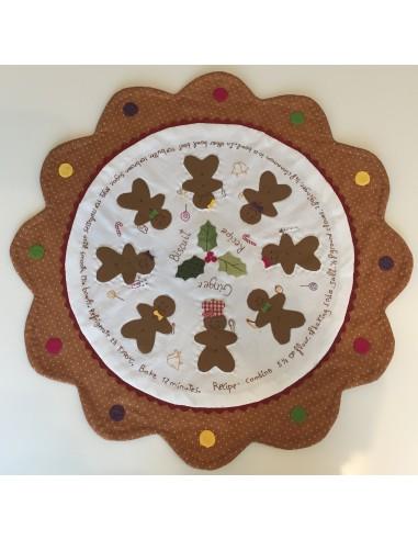 PATRÓN PDF-Patrón patchwork centro de mesa Candy Christmas