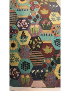 Segundo / septiembre envío manta Heirloom quilt lana Rowan