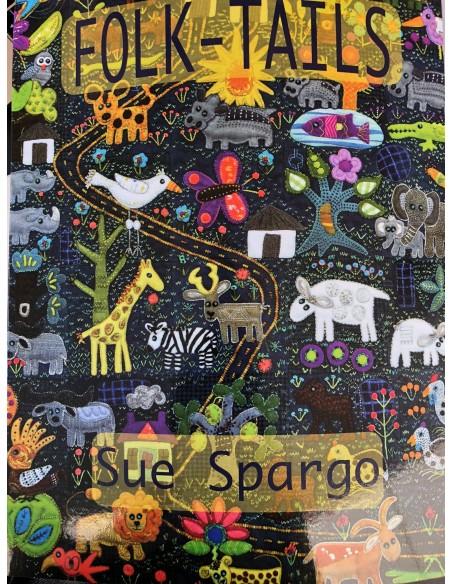Libro Folk - Tails de Sue Spargo