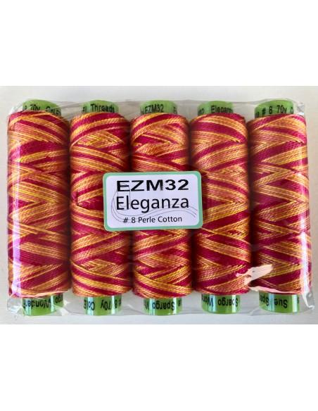 Hilo Eleganza EZM32 algodón Perlé de Sue Spargo