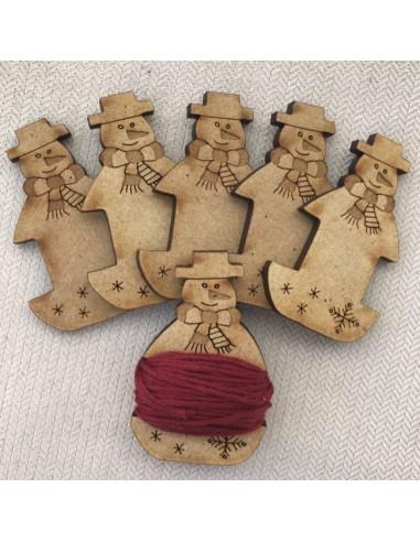 Kit bobina portahilos madera Frosty Floos de Lynette Anderson