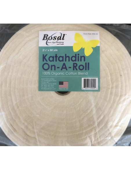 "Rollo guata Bosal 2 1/2"" x 50 yardas jelly roll"