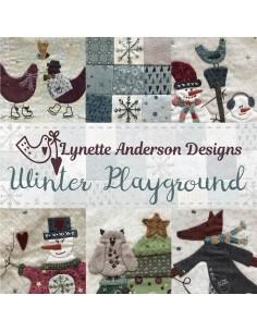 Bloque 1 y 6 del BOM: Winter Playground de Lynette Anderson