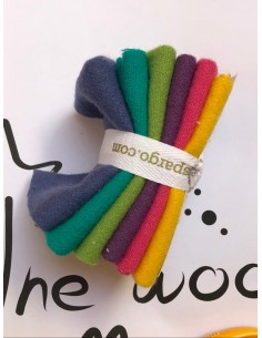 Pack telas lana Sue Spargo tonos verdes y azules