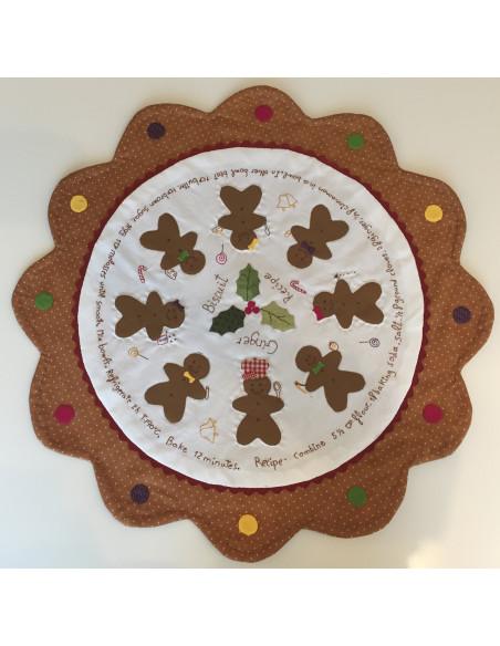 Panel Muñeco oso Navidad