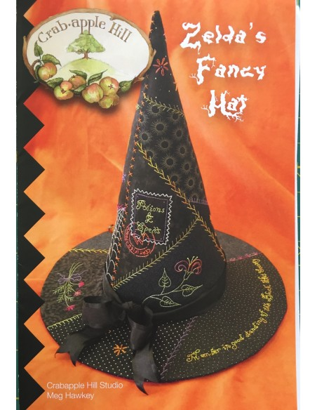 Sombrero bruja patchwork Zelda´s Fancy Hat
