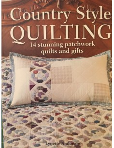 Libro patchwork: Country Style Quilting de Lynette Anderson