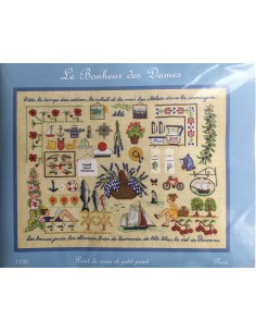 Kit punto de cruz y petit point Le Bonheur des Dames Summer