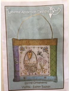 Bordado Lynette Anderson Design Easter Basket