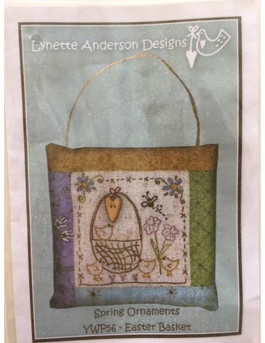 Bordado Lynette Anderson Design Easter Basket