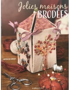 Libro Jolies Maisons Brodées Editorial Saxe