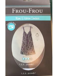 Patrón vestido tirantes Frou Frou de costura