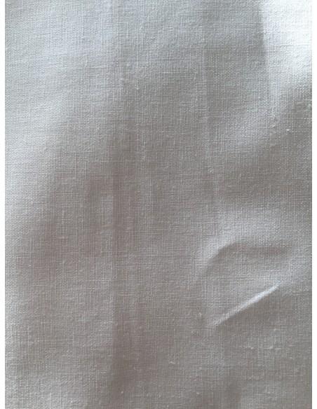 Tela lino blanco
