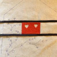 Empezamos los laterales del costurero casita de Alsacia. #thewoolcollection #costurero  #sewingcase #patchwork #costura #costuracreativa #handmade #alsacia #patchworkferia #patchworkalsacia #quilt #handmade